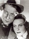 Jean Gabin and Michele Morgan in the Film Quai Des Brumes 1938 Photographic Print