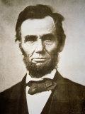 Abraham Lincoln Fotografisk tryk af Alexander Gardner