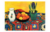 Hyazinthenteppich Still Life Posters af Auguste Macke