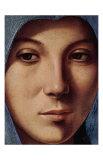 Gesicht der Maria Portrait Posters af  Antonello da Messina
