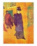 Moulin Rouge, Paris Póster por Henri de Toulouse-Lautrec