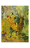 The Good Samaritan Plakater av Vincent van Gogh