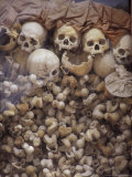Killing Fields Memorial Temple, Commemorating Victims of Pol Pot Genocide, Siem Reap, Cambodia Lámina fotográfica por Cindy Miller Hopkins