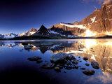 The Ramparts, Tanquin Valley, Jasper National Park, Alberta, Canada Impressão fotográfica por Gavriel Jecan