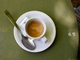 Coffee Cup, Luxemburg Gardens, Paris, France Photographic Print by Michele Molinari