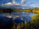 Maskinonge Lake, Wateron Lakes National Park, Alberta, Canada Stampa fotografica di Chuck Haney