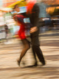 Tango Dancers on Caminito Avenue, La Boca District, Buenos Aires, Argentina Photographic Print by Stuart Westmoreland