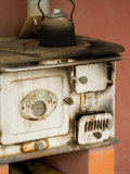 Classic Wood Stove, Estancia Santa Susan near Outskirts of Buenos Aires, Argentina Fotoprint av Stuart Westmoreland