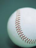 Close-up of a Baseball Photographic Print