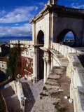 Bastions (Bastione) San Remy Above Piazza Constitutione, Cagliari, Italy Photographic Print by Wayne Walton