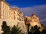 Cathedral from Bastione San Remy, Cagliari, Italy Photographic Print by Wayne Walton