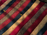 Detail of Traditional Nomad Straw Mat, Djibouti, Djibouti Fotografisk tryk af Frances Linzee Gordon