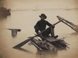 General H. Haupt, c.1862 Foto af Andrew J. Johnson