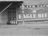 Street Scene, Natchez, Mississippi, c.1935 Foto af Ben Shahn