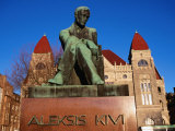 Alexis Kivi Monument, Helsinki, Finland Photographic Print by Wayne Walton