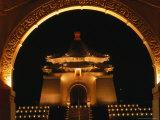 Chiang Kai Shek Memorial at Night, Taipei, Taiwan Photographic Print by Philip & Karen Smith