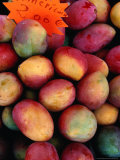 Mangoes for Sale on Roadside Stall, Reunion Photographic Print by Jean-Bernard Carillet