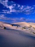 Sand Dunes Carved by Wind, Eucla National Park, Australia Reproduction photographique Premium par John Banagan