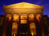Teatro Massimo, Palermo, Italy Photographic Print by Wayne Walton