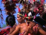 Performing of Timorese Dance, Dili, East Timor Photographic Print by John Banagan
