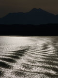 Sea with Highlands in Background, United Kingdom Photographic Print by Martin Moos