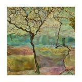 Tree And A Bird Kunstdruck von Hyunah Kim