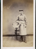 Boy Carrying a Basket Photographic Print by W. Reynolds
