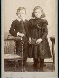 Children's Dress 1890s Lámina fotográfica por Henry Bonn
