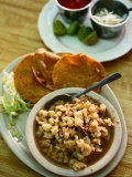 Pozole, a Specialty Dish of Jalisco, Jalisco, Mexico Photographic Print by Greg Elms
