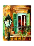 Balcony In The French Quarter Prints by Diane Millsap