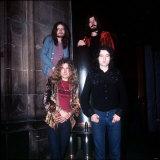Led Zeppelin Musicians Members of the Band, 1970 Fotografisk tryk