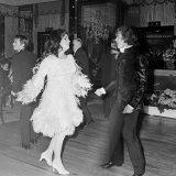 Elizabeth Taylor Dancing with Nureyev, March 1968 Photographic Print
