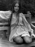Jane Seymour at Pinewood Studios, April 1973 Photographic Print