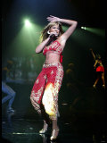 Beyonce,on 1st Night on Stage at Wembley Arena, November 2003 Fotografisk tryk