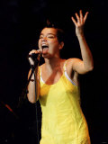 Bjork the Singer from Iceland on Stage at T in the Park Music Fotografie-Druck