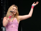 Joss Stone Performs on the Main Stage, T in the Park Balado, July 2005 Photographic Print