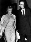 Marilyn Monroe with Her Third Husband Arthur Miller in 1959 Fotografie-Druck