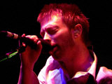 Thom Yorke, Radiohead Concert at the Odyssey, September 200 Fotografisk tryk