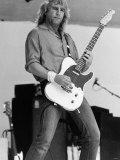 Rick Parfitt of Status Quo at Live Aid Concert 1985, Wembley Stadium Fotografisk tryk