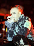 Prodigy Singer Keith Flint, T in the Park, 1998 Photographic Print