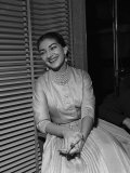 Maria Callas, 1957 Reproduction photographique