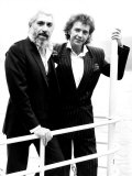 David Essex Hosting a Boat Trip to Mark the Launch of His New Album Mutiny Photographic Print
