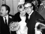 Britt Ekland Swedish Model with Her Fomer Husband Peter Sellers Photographic Print