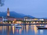 Ascona, Lago Maggiore, Ticino, Switzerland Photographic Print by Demetrio Carrasco