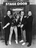 Status Quo Pop Group Pop Group with Hayle and Pace Fotografisk tryk