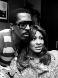 Ike and Tina Turner Fotografie-Druck