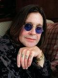 Ozzy Osbourne Singer, Lead Singer with Rock Band Black Sabbath, October 1998 Fotografie-Druck
