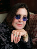 Ozzy Osbourne Singer, Lead Singer with Rock Band Black Sabbath, October 1998 Photographic Print