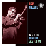 Dizzy Gillespie, Live at the 1965 Monterey Jazz Fest Poster