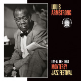 Louis Armstrong, Live at the 1958 Monterey Jazz Fest Posters